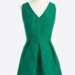 Gently Used J Crew Kelly Green Dress with Pockets